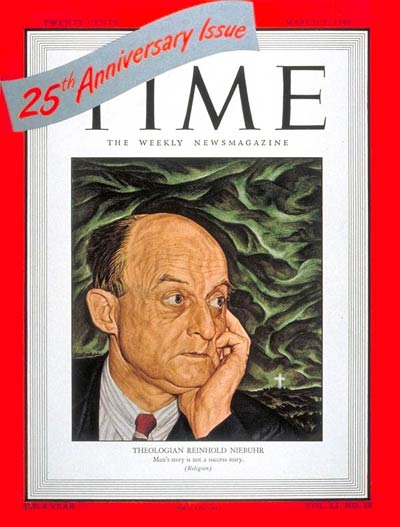 Reinhold Niebuhr Time cover