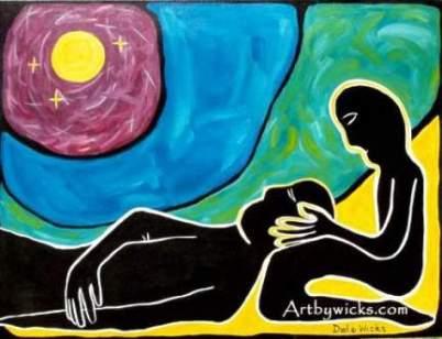 'Compassion' artbywicks.com