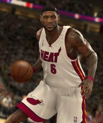 Lebron James of the Miami Heat, formerly of the Cleveland Cavaliers