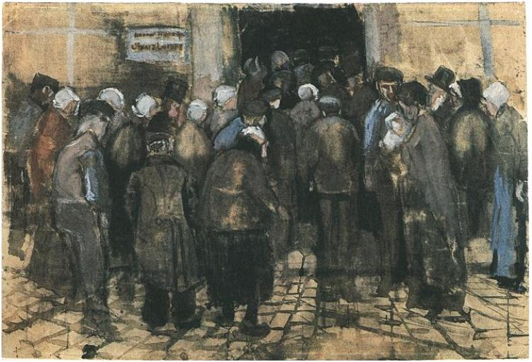 Van Gogh, The Poor and Money