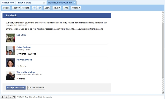 Lying Facebook e-mail message 120826
