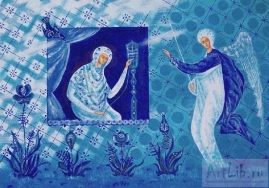 Sofia Moroz Annunciation