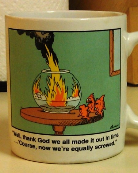 A mug from the far side: A favorite gift among many