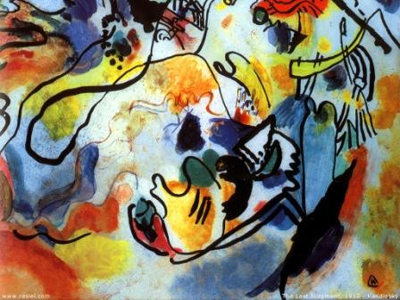 The Last Judgment, by Wassily Kandinski
