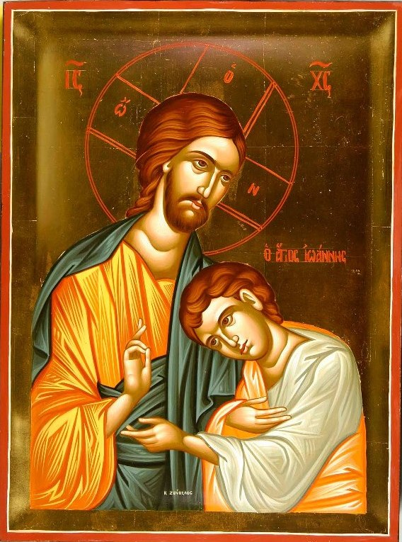 John the Beloved Disciple Icon artist unknown