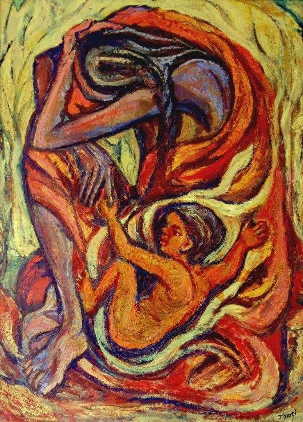 Jesus son of Man By Jyoti Art Ashram
