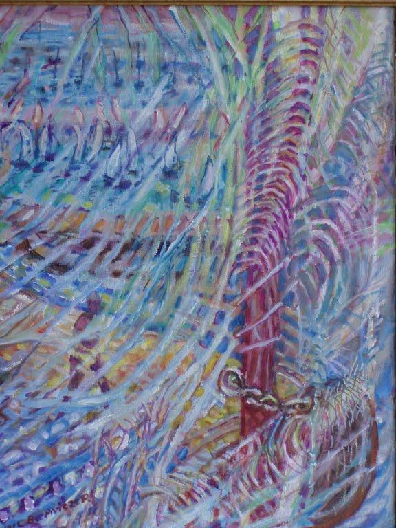 Nets and Boat Yael Fine Arts Studio