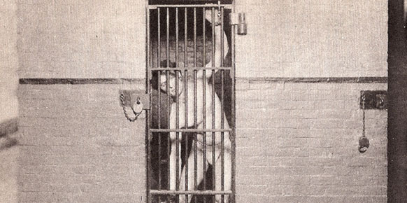 Houdini in jail: An historical fact that makes the myth believable