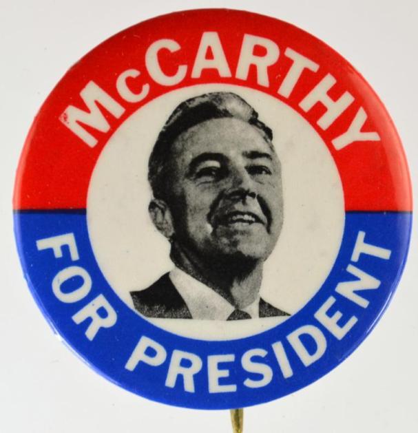 Eugene McCarthy: Antiwar champion in 1968